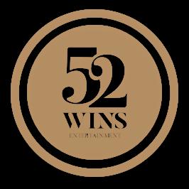 52Wins Entertainment Circular Logo Gold